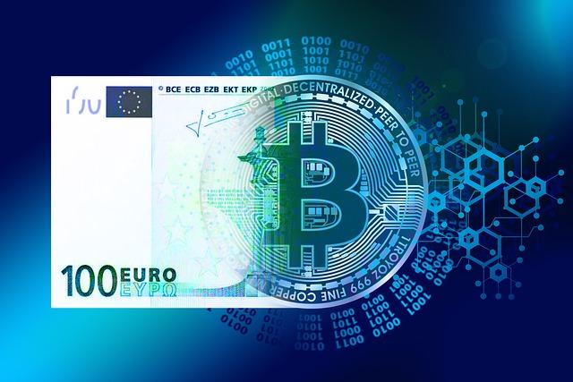 Euro wird zu Bitcoin
